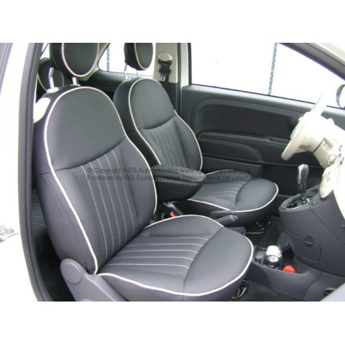 Fiat 500 2008 elan lederen interieur for Fiat 500 interieur