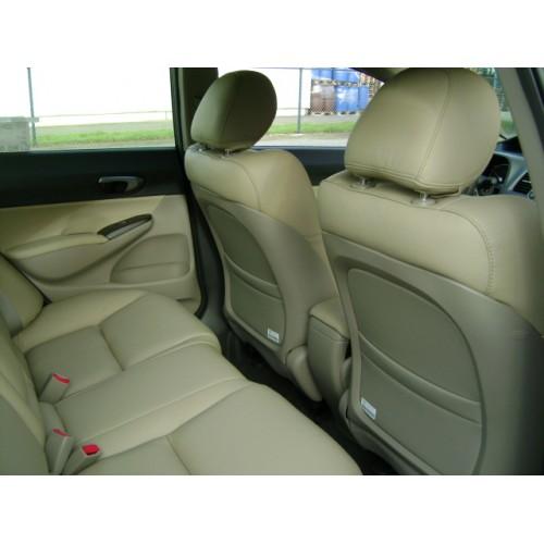 Honda civic hybrid 2009 lederen interieur for Lederen interieur
