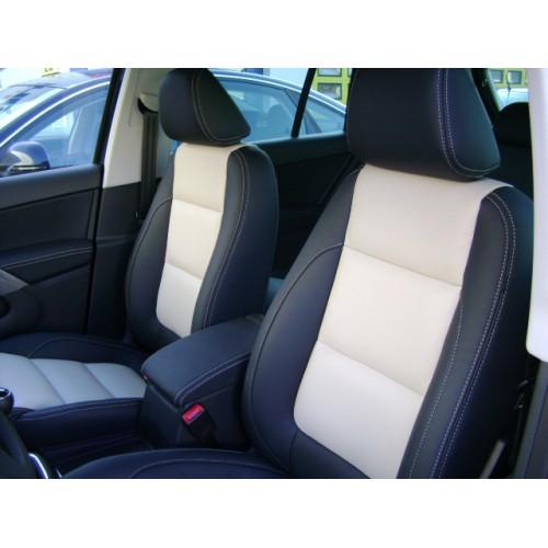 Volkswagen tiguan sport style 2008 lederen interieur elan for Lederen interieur